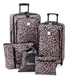 Relativity® Animal Print Expandable 5-pc. Luggage Set