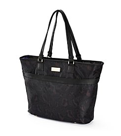 Jessica Simpson Leopard Travel Tote