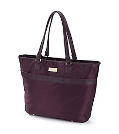 Jessica Simpson Purple Travel Tote