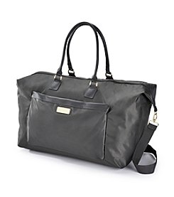 Jessica Simpson Charcoal Travel Duffel