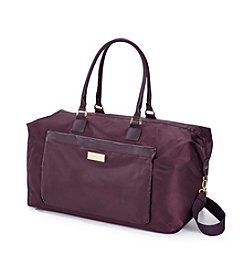 Jessica Simpson Purple Travel Duffel