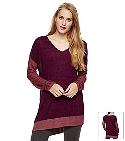 Vince Camuto® Asymmetric V-Neck Sweater