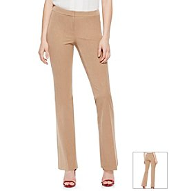 Vince Camuto® Zip-Front Flare Pants