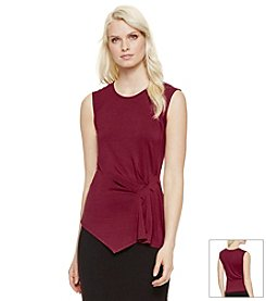 Vince Camuto® Side-Ruched Top