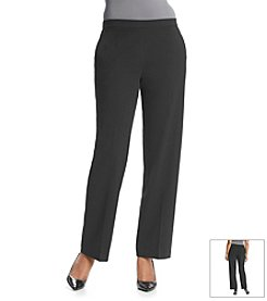 Briggs New York® Solid Bi-Stretch Pant