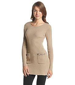 Notations® Ribbed Sweater Dress