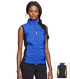 Lauren Active® Quilted Mock Neck Vest