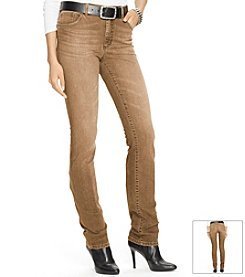 Lauren Jeans Co.® Super-Stretch Heritage Jean