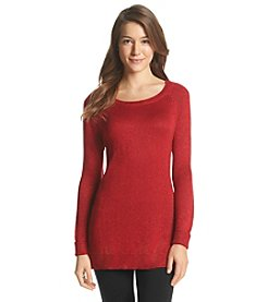 Cupio Solid Tunic Sweater