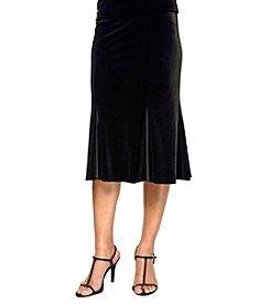 Alex Evenings® Velvet Flair Skirt