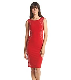 Calvin Klein Studed Sheath Dress