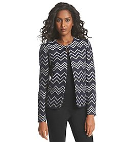 Tahari ASL® Chevron Jacket