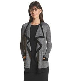 Calvin Klein Marled Flyaway Cardigan