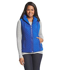 Laura Ashley® Petites' Solid Puffer Vest