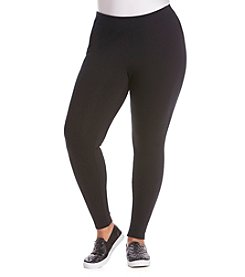 Ruff Hewn GREY Plus Size Basic Knit Leggings