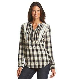 Ruff Hewn Popover Flannel Bib Shirt