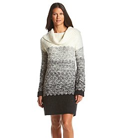 Ruff Hewn Ombre Honeycomb Sweater Dress