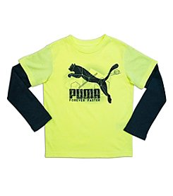 PUMA® Boys' 4-7 Forever Faster Action Tee
