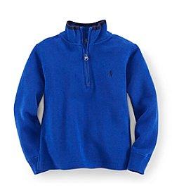 Ralph Lauren Childrenswear Boys' 2T-7 Half Zip Pullover