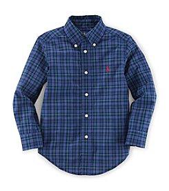 Ralph Lauren Childrenswear Boys' 2T-7 Crisp Cotton Poplin