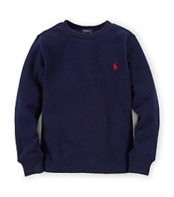 Ralph Lauren Childrenswear Boys' 2T-7 Long Sleeve Tee