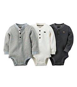 Carter's® Baby Boys' 3-Pack Long-Sleeve Bodysuits