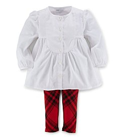 Ralph Lauren® Baby Girls' Poplin Tunic Set