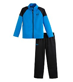 Under Armour® Baby Boys' 12-24M Colorblock Tricot Set