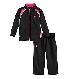 Under Armour® Baby Girls' Pregame Tricot Set