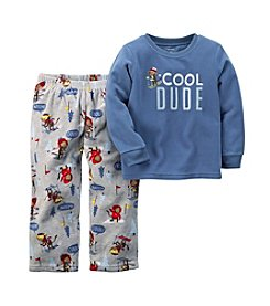 Carter's Boys' 12M-8 2-Piece Ski Monkey Pajamas