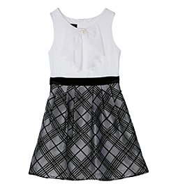 Amy Byer Girls' 7-16 Bow Front Dress