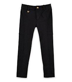 Ralph Lauren Childrenswear Girls' 2T-7 Solid Leggings