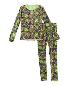 Climatesmart® Boys' 4-12 Comfy Teenage Mutant Ninja Turtles® Tee And Pants Set