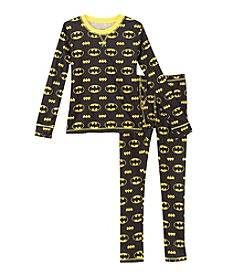 Climatesmart® Boys' 4-12 Comfy Batman Tee And Pants Set