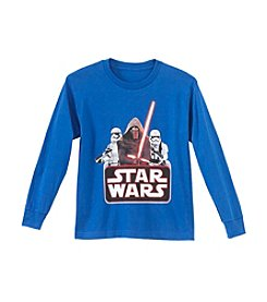 Star Wars® Boys' 8-20 Star Wars Long Sleeve Badge Tee