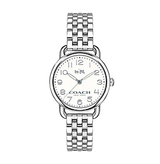 COACH WOMEN'S 28mm DELANCEY STAINLESS STEEL BRACELET WATCH