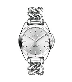 COACH WOMEN'S 24mm TRISTEN STAINLESS STEEL BRACELET WATCH