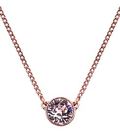 Givenchy® Rose Goldtone Pendant Necklace