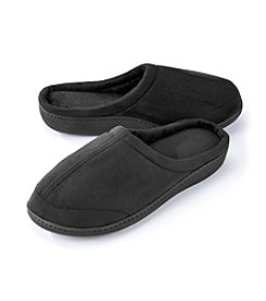 The Sharper Image® Men's Micro Suede Slippers