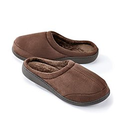 The Sharper Image® Men's Micro Suede Slipper