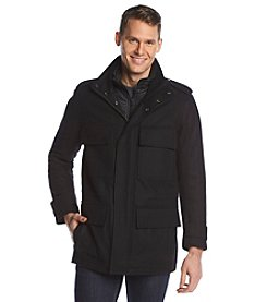 Andrew Marc Men's Wool Peacoat