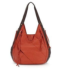 GAL Smooth Washed Double Handle Hobo