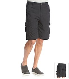 Paradise Collection® Men's Cotton Nylon Cargo Shorts
