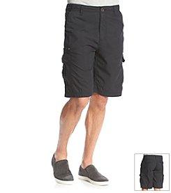 Paradise Collection® Men's Cotton Nylon Cargo Shorts
