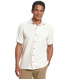 Paradise Collection® Men's Short Sleeve Silk Button Down