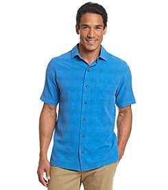 Paradise Collection Men's® Short Sleeve Silk Button Down