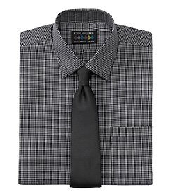 Alexander Julian® Men's Regular Fit Dress Shirt & Tie Set