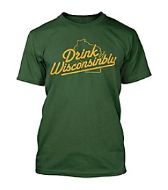 Drink Wisconsinbly® Men's Short Sleeve Tee