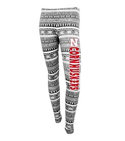 College Concepts NCAA® Nebraska Cornhuskers Women's Come Back Patterned Legging