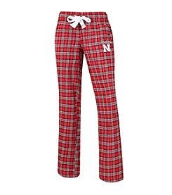 College Concepts NCAA® Nebraska Cornhuskers Women's Ovation Flannel Pants